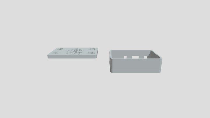 Raspberry Box Witcher V2 1 3D Model