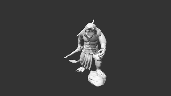Champion Of The People 3D Model