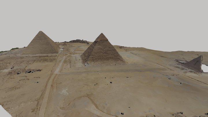 Plateau de Gizeh 3D Model