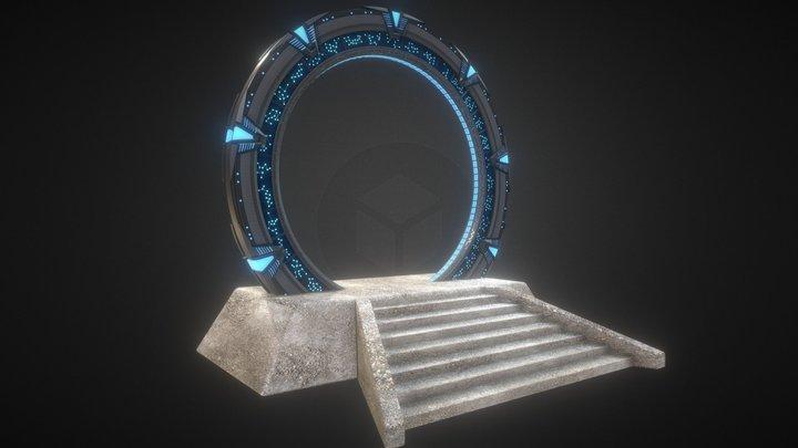Atlantis Gate 3D Model