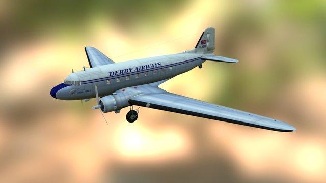Douglas Dc 3 3D Model