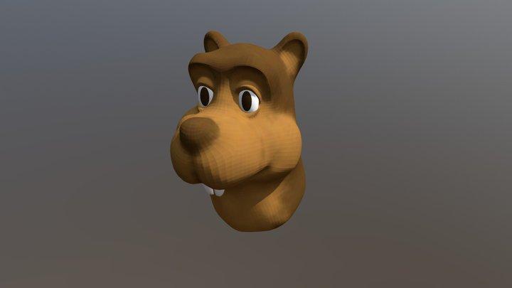 Castor 3D Model