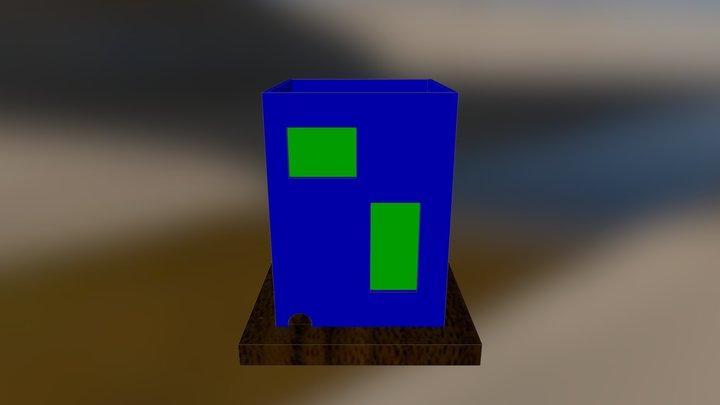 Work Rest Say Design 3D Model