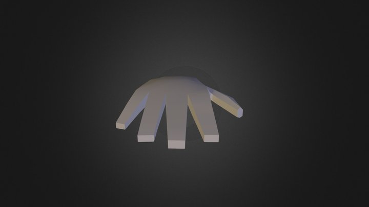TalithaW_Hand 3D Model