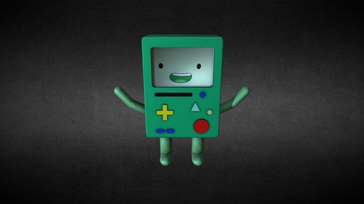 Bmo/Adventure Time 3D Model