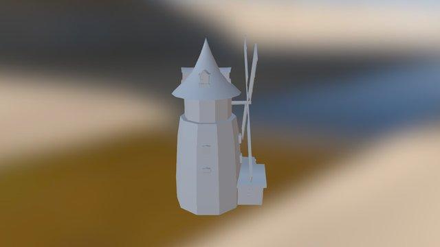 fantasy asset: windmill 3D Model