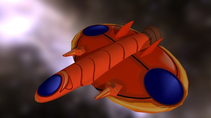 Truxton Red 3D Model