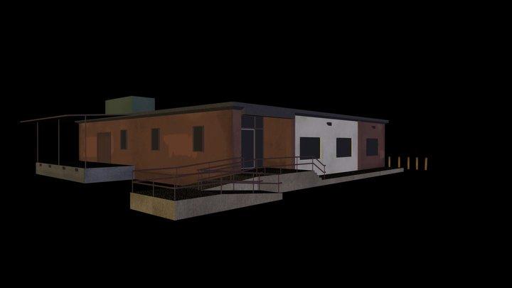 Post Office Building 3D Model
