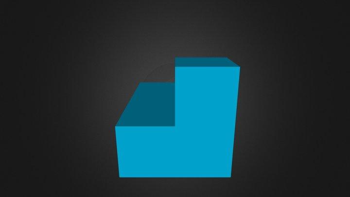 Blue Piece 3D Model