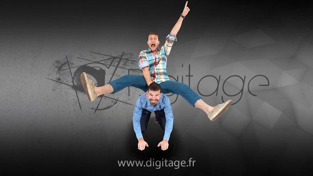 Eole et Guitou 3D Model