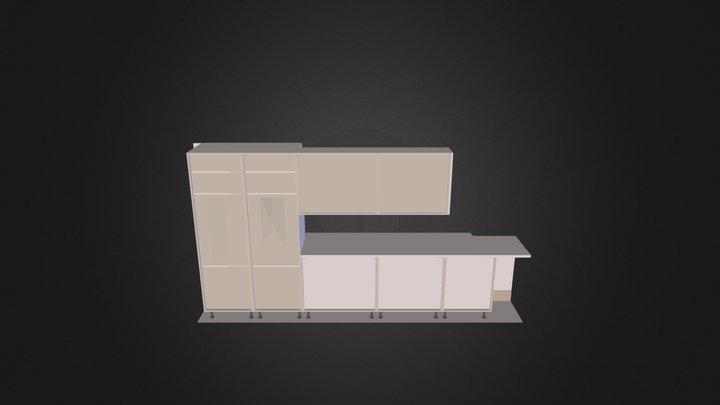 Sample Kitchen 3D Model