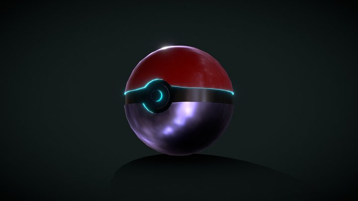 POKEBALL [SMOOTH] 3D Model