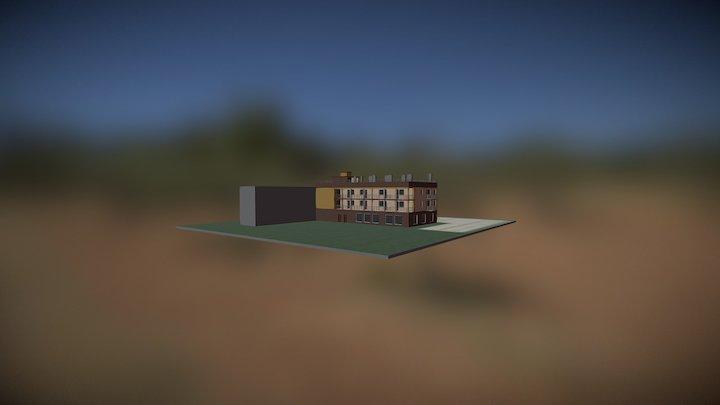 Pension 3DC 3D Model