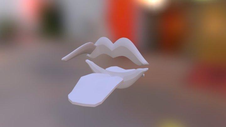 Lips Puzzle 3D Model