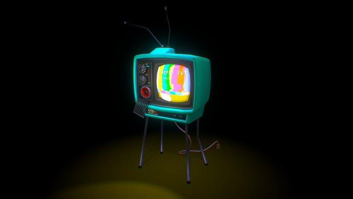 STOOPID TV 3D Model