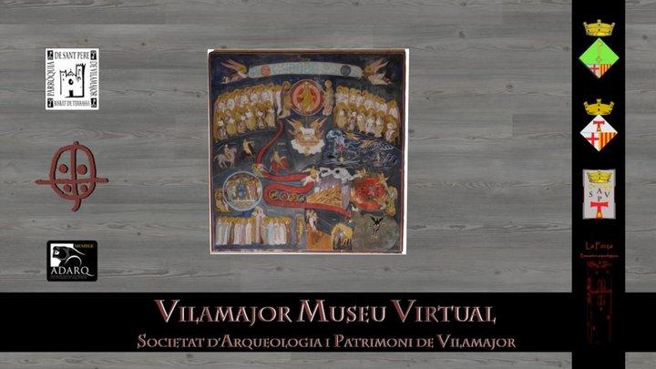Frescos de l'Apocalipsi. Església SPV 3D Model