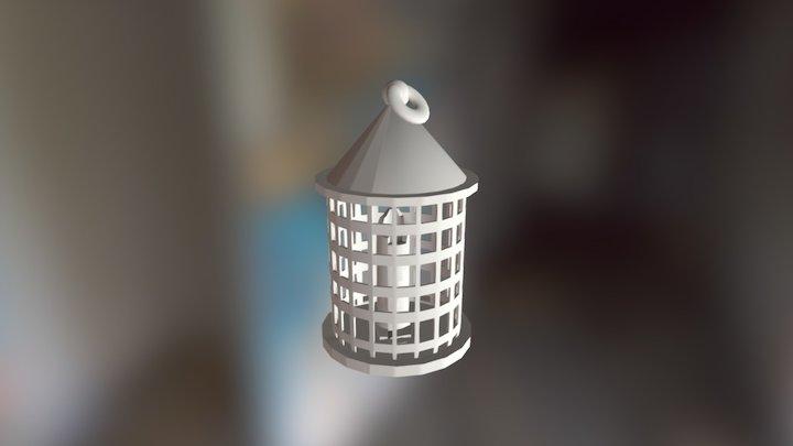 Medieval Lantern finished 3D Model