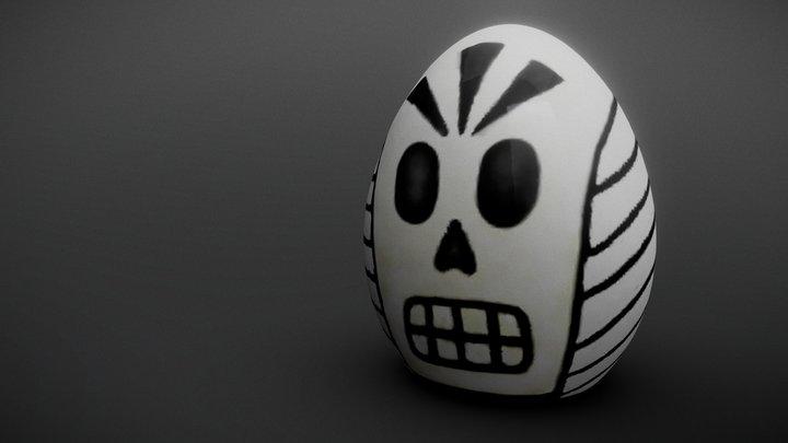 Easter Manny Calavera 3D Model