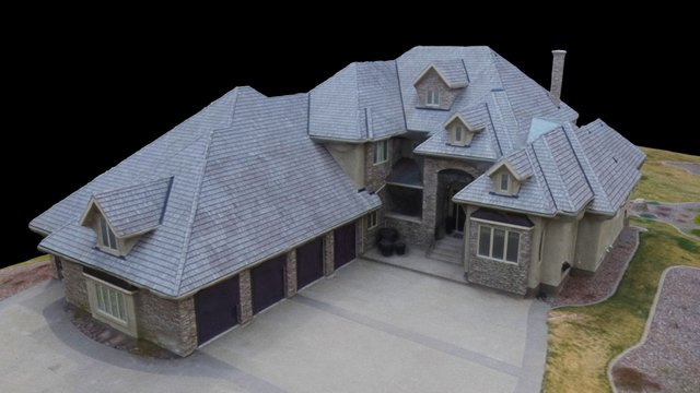 High End Real Estate 3D Model