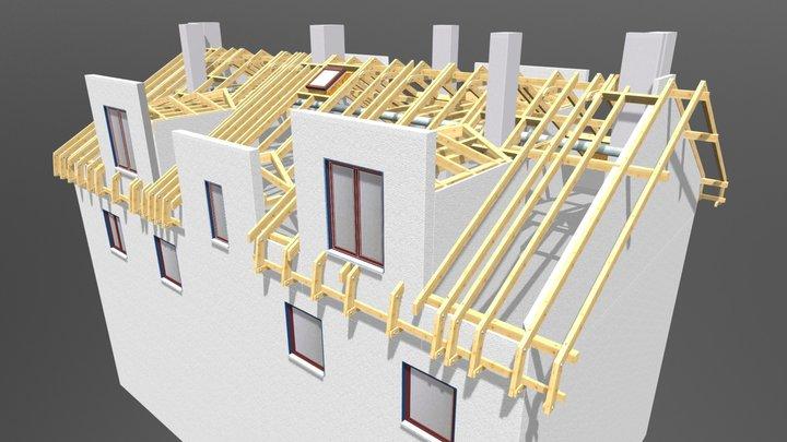 Kraków - konstrukcja 3D Model