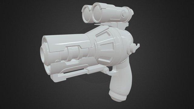 Laser Gun 雷射槍 3D Model