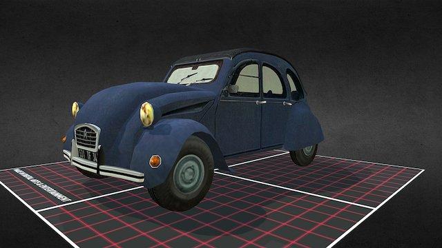 Prop_Old Car 3D Model