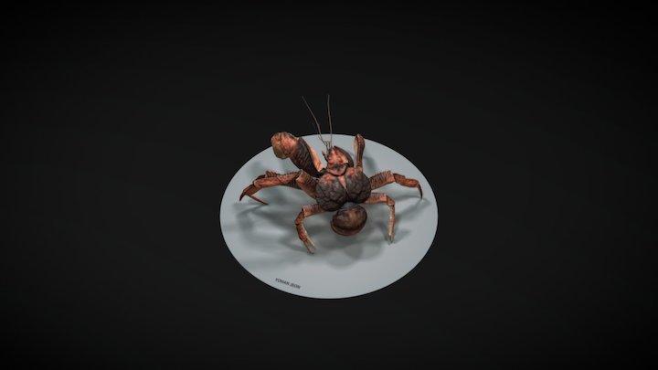 Coconut Crab 3D Model