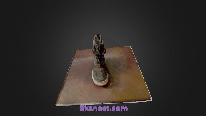 Sorel 1964 boot skanect 3D Model