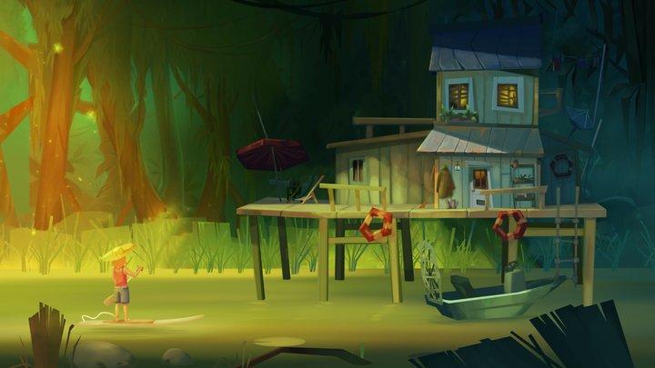Intriguing House 3D Model