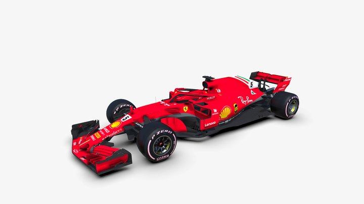 Ferrari SF71H 3D Model