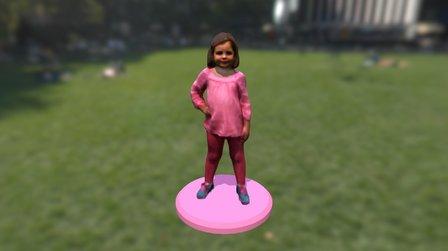 Hazel Baushke 3D Model