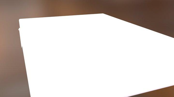 LOOP_bed_140_3D 3D Model