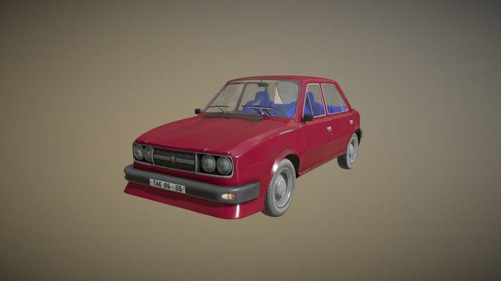 Škoda 120 GLS 3D Model