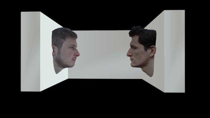 Salle Expo Virtuelle 3D Model