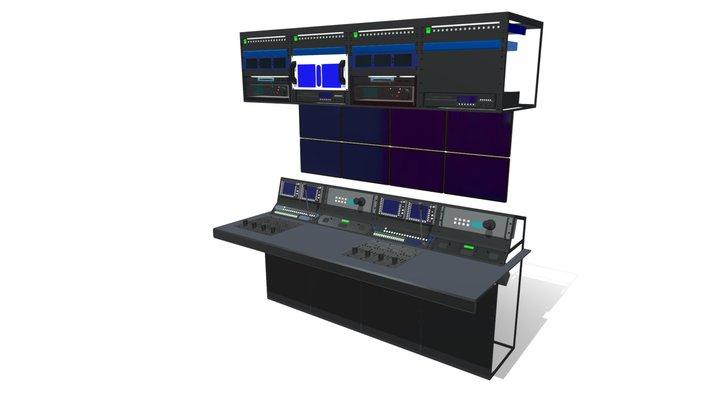 Camera & Eng System 3D Model