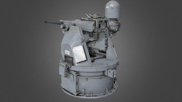 Model522 (M242 Bushmaster) 3D Model