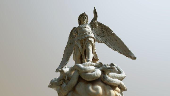 Monumento Funerario Fam. Marín. 3D Model