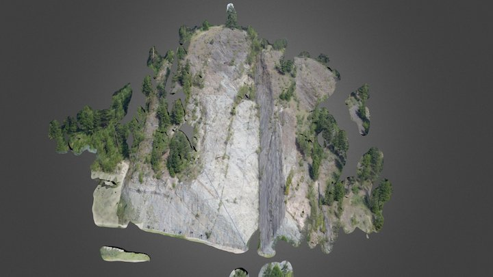 Libby Dam - Dirty Shame Slide 3D Model