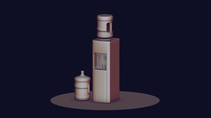 Water Cooler. Free 3D model. 3D Model