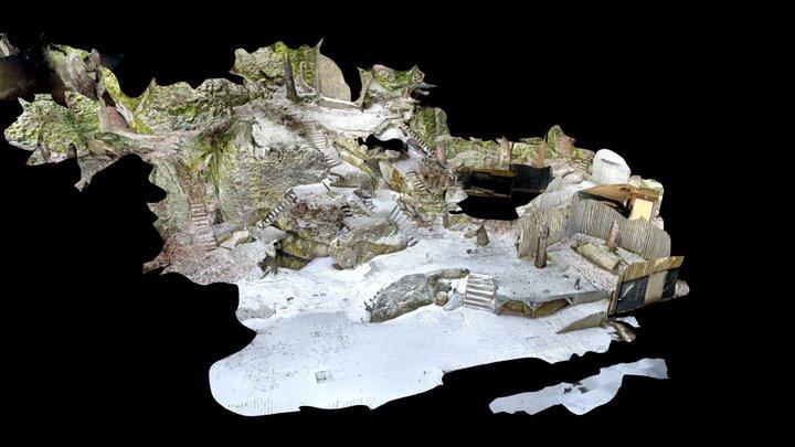 Luisenburg Festspiele Wunsiedel - Bühnenraum 3D Model