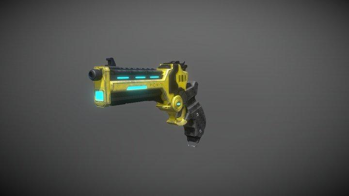 Scifi_handgun 3D Model