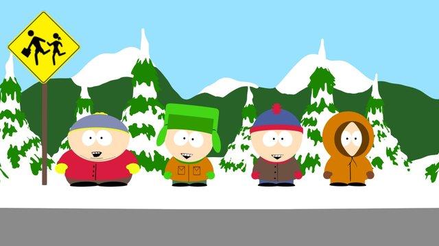 South Park 3D Model