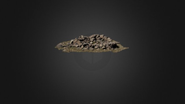 Rock hut 02 (2015) 3D Model