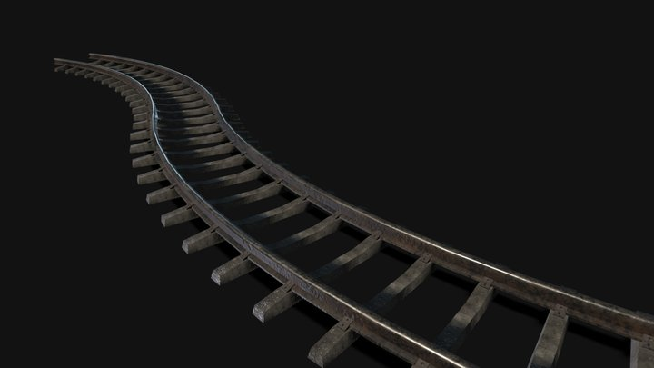 rails 3D Model