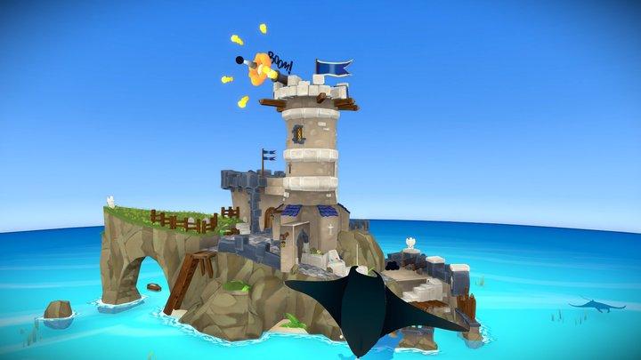 Windbreaker Fortress Attacks! 3D Model