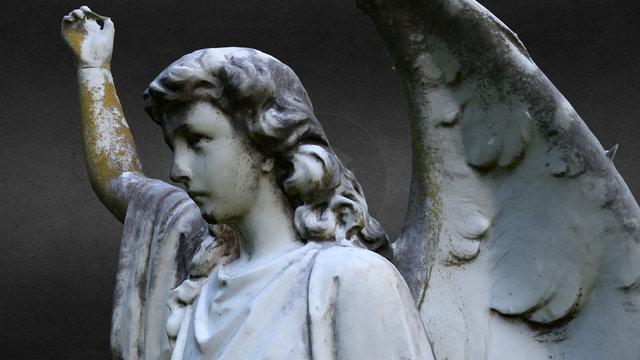 cemetery angel - Leubner 3D Model