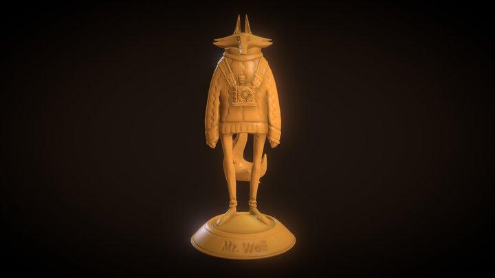 Mr Wolf 3D Model
