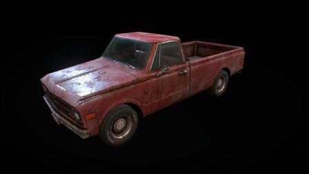 chevrolet c10 1967 3D Model