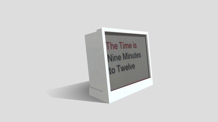 THE - Times, News & Environmental Data 3D Model