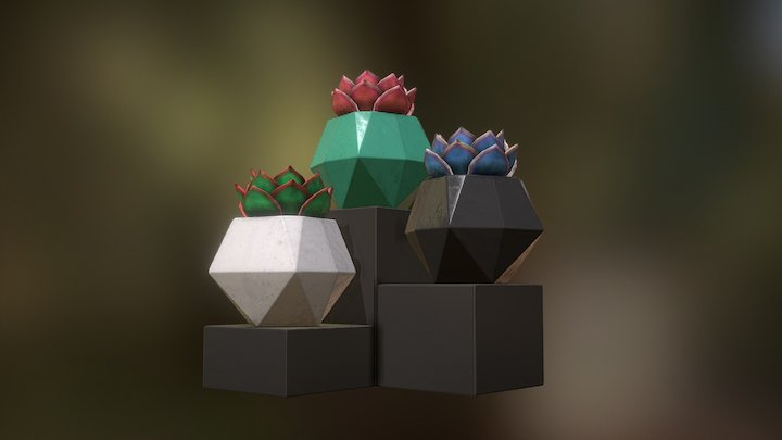 Plant Pot 1 3D Model